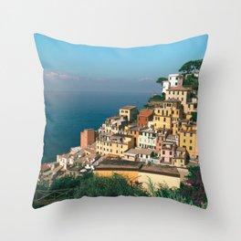Riomaggiore, Italy Throw Pillow
