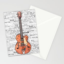 Music for the Soul & Spirit - Orange Series Stationery Cards