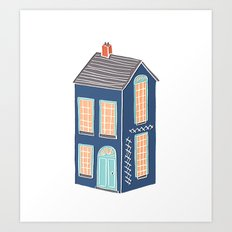 Little Townhouse Art Print