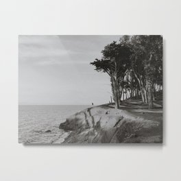 COYOTE POINT VI (B+W) Metal Print