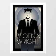 Phoenix Wright - 10th Anniversary Print Art Print