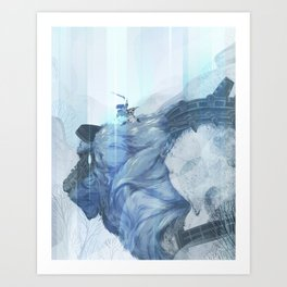 A Fated Encounter Art Print