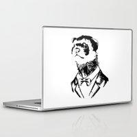 ferret Laptop & iPad Skins featuring Fancy Ferret by JK Designs