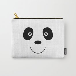 Panda bear face Carry-All Pouch