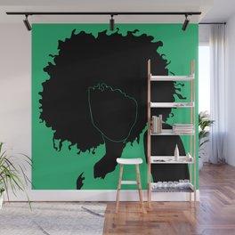 lime green Wall Mural