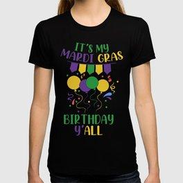 Mardi Gras Birthday T-shirt