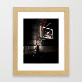 ball up Framed Art Print