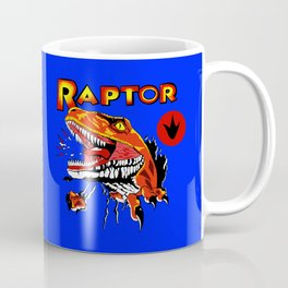 Raptor Dinosaur Ghost World Enid Shirt Digitally Re created Coffee Mug