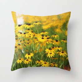 Wake Up Little Suzies Throw Pillow