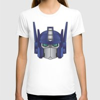 optimus prime T-shirts featuring Optimus Prime by Tombst0ne