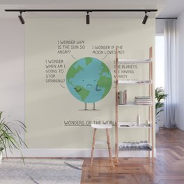 Wonders of the world Wall Mural