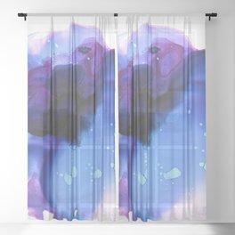 Ajna (third eye chakra) Sheer Curtain