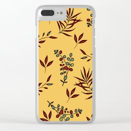 Leafy botanicals Clear iPhone Case