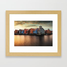 A Dutch Color Palette Framed Art Print