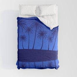 Blue Island Starry Sky Comforters