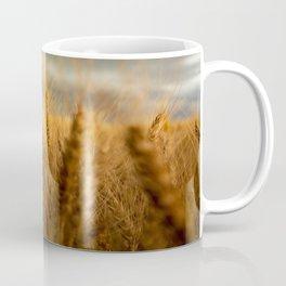 Harvest Time - Golden Wheat in Colorado Field Coffee Mug