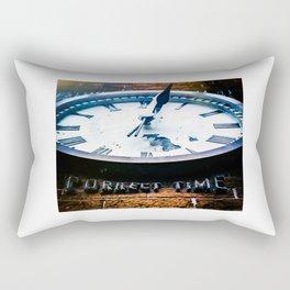 Correct Time Rectangular Pillow