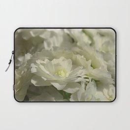 Pale Bridal Veil Laptop Sleeve