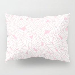 Leaves in Rose Pillow Sham