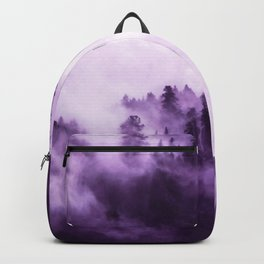 Clear away the fog to see the light. Purple Backpack