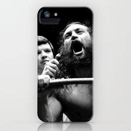 Matysic / King Kong Brody iPhone Case