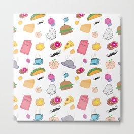 Food Food Metal Print