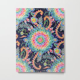 Color Celebration Mandala Metal Print