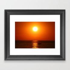 Summer Everlasting Framed Art Print