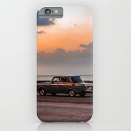 Havana Sunset iPhone Case