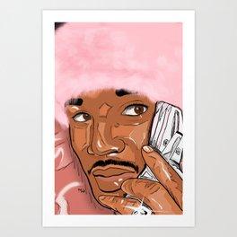 Killa Cam Camron Art Print