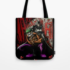 Laughing In The Dark Tote Bag