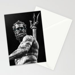 Poseidon  Stationery Cards
