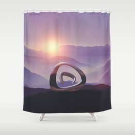 Intervention 46 Shower Curtain