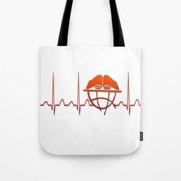 Professor Heartbeat Tote Bag