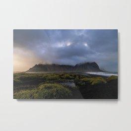 Vestrahorn - Iceland Metal Print
