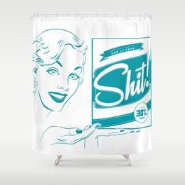 Shit!  Shower Curtain