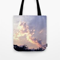 pills Tote Bags featuring PILLS by SuperPills