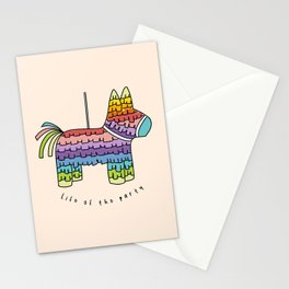 Life of the Party | Peach Pinata Stationery Cards