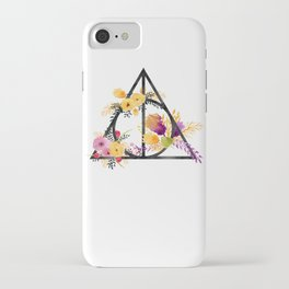 Life and Deathly Hallows iPhone Case