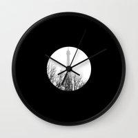 eiffel Wall Clocks featuring eiffel by FERNANDAЯAMOS