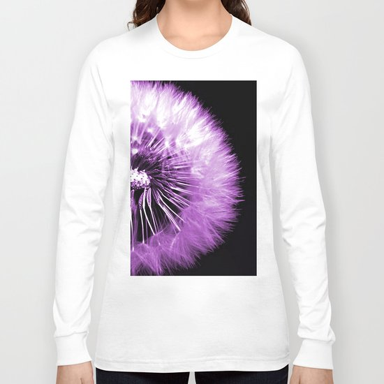 Dandelion Seed Half Long Sleeve T-shirt