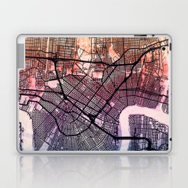 New Orleans Street Map Laptop & iPad Skin