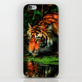 Paying Homage To The Jungle King iPhone Skin