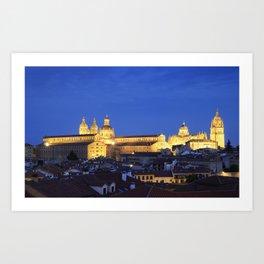 Salamanca, Spain. Art Print