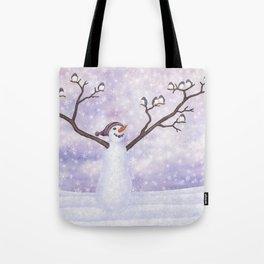 snowman joy Tote Bag