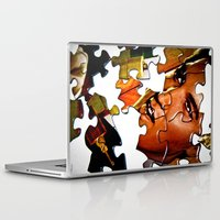 gentleman Laptop & iPad Skins featuring Gentleman by Rick Staggs