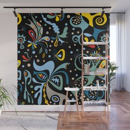 Real Deal black Wall Mural