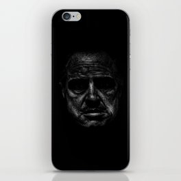 Godfather (B&W) iPhone Skin