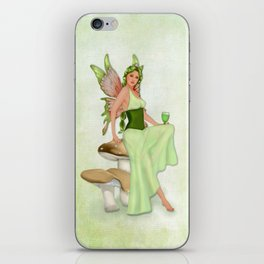 Absinthe the Green Fairy iPhone Skin