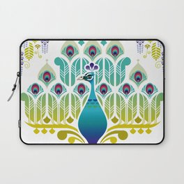 Indian Blue Peacock [Pavo Cristatus] Laptop Sleeve